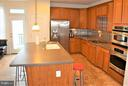 Huge island, beautiful Corian! - 19342 GARDNER VIEW SQ, LEESBURG