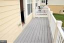 Balcony for hanging out - 19342 GARDNER VIEW SQ, LEESBURG