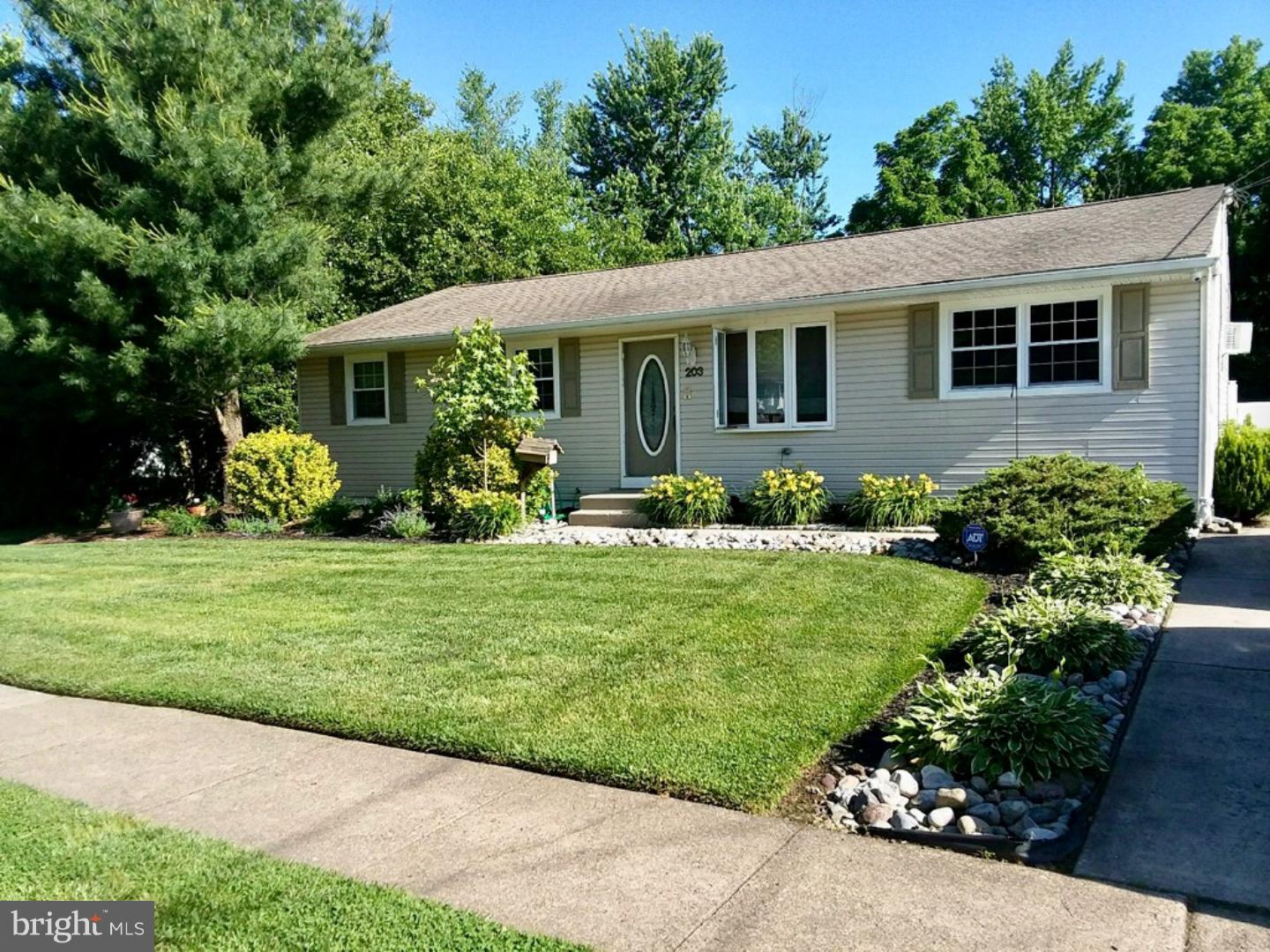 Single Family Home for Sale at 203 CENTRAL Avenue Woodbury Heights, New Jersey 08097 United States