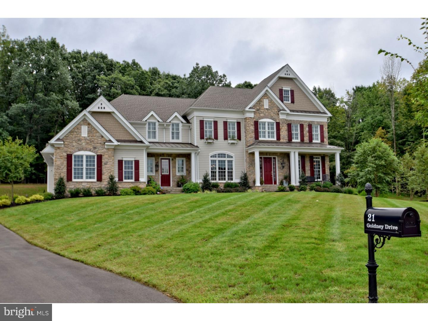 Single Family Home for Sale at 21 GOLDNEY Drive Newtown, Pennsylvania 18940 United States