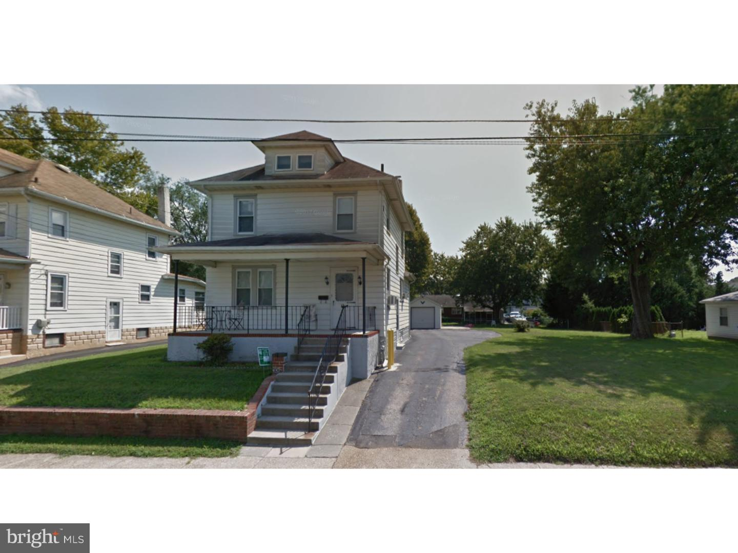Single Family Home for Rent at 306 VICTORIA Street Glassboro, New Jersey 08028 United States
