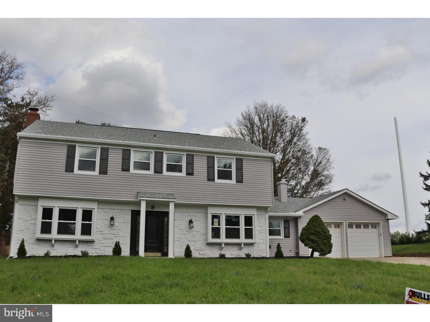 Single Family Home for Sale at 9 CRESCENT Road Willingboro Township, New Jersey 08046 United States