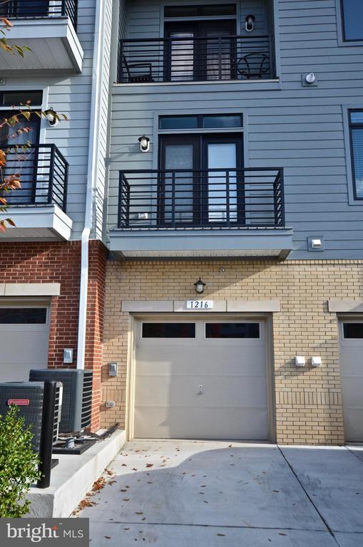 Exterior (Rear) - 1216 RIBBON LIMESTONE TER, LEESBURG