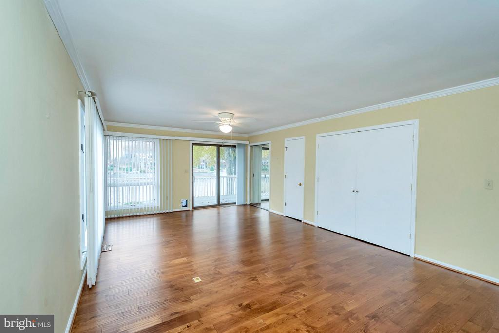 Master Bdrm as viewed unfurnished - VIEWS - 212 MT PLEASANT DR, LOCUST GROVE