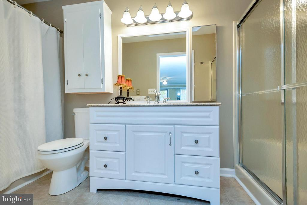Main Lvl Master Ba Separate shower & tub - 212 MT PLEASANT DR, LOCUST GROVE