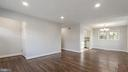 Living Room and Dining Room - 5908 ROBIN LN, SUITLAND