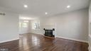 Huge Living room with Wood burning Fireplace - 5908 ROBIN LN, SUITLAND
