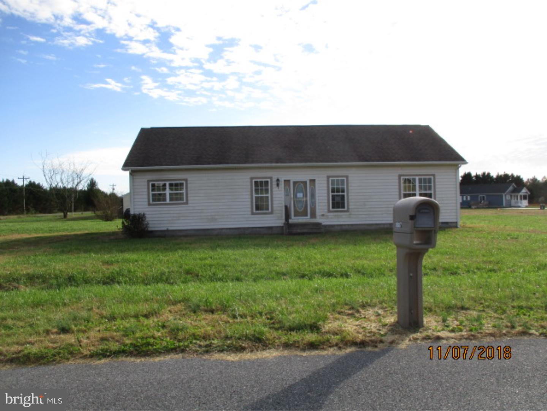 Single Family Home for Sale at 18887 EDWARD Drive Bridgeville, Delaware 19933 United States
