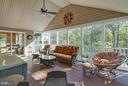 Screened in Porch - 17266 FLINT FARM DR, ROUND HILL