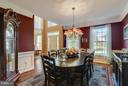 Dining Room - 17266 FLINT FARM DR, ROUND HILL