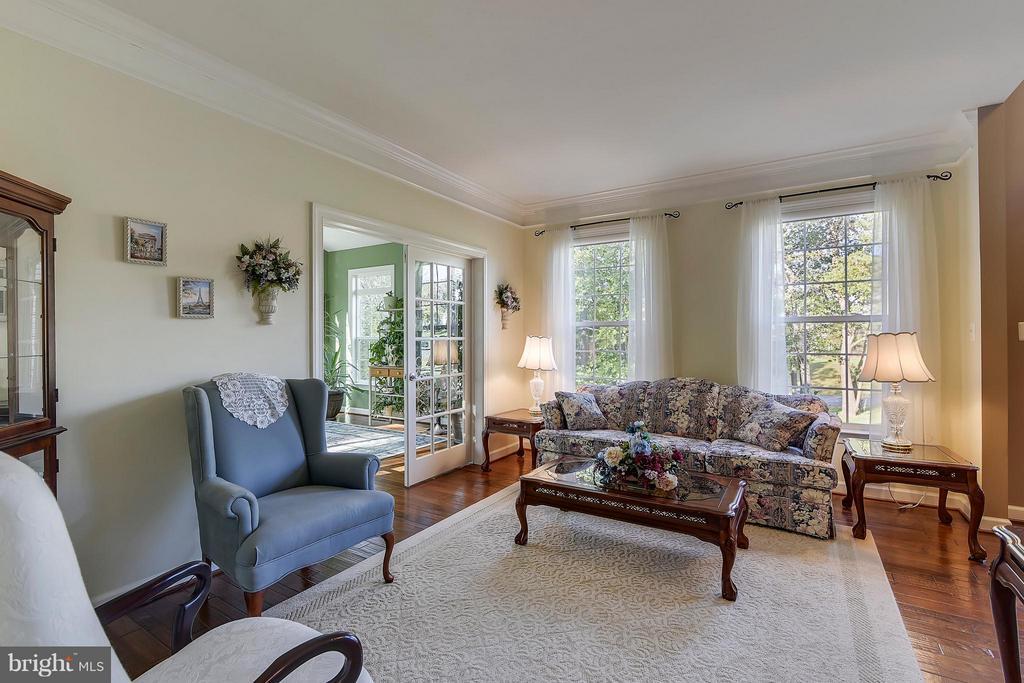 Living Room - 17266 FLINT FARM DR, ROUND HILL