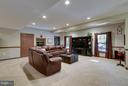 Lower Level Recreation Room - 17266 FLINT FARM DR, ROUND HILL