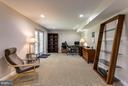 Rec Room with Walk Out Entrance - 12704 FANTASIA DR, HERNDON