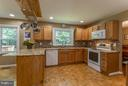 Kitchen - 12704 FANTASIA DR, HERNDON