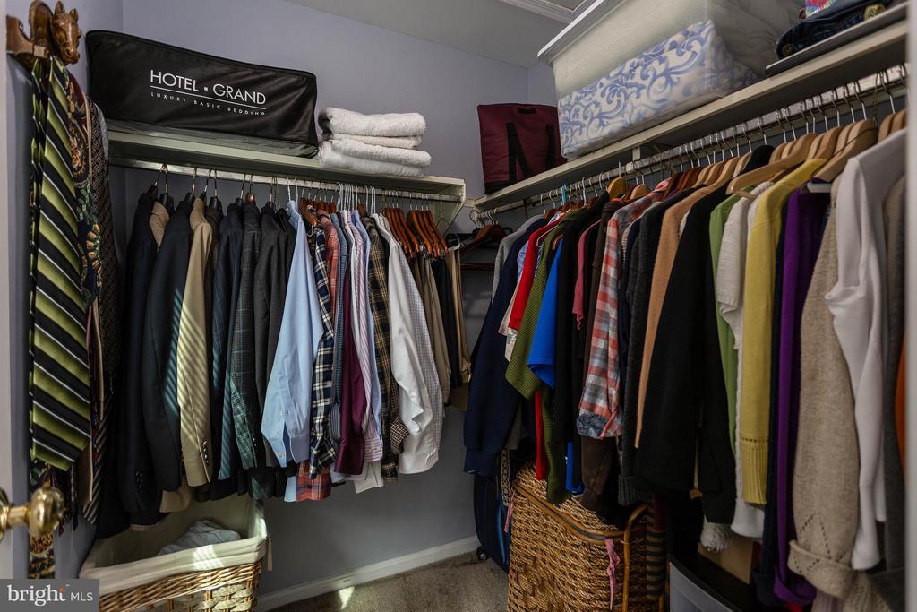Master Bedroom Walk In Closet - 12704 FANTASIA DR, HERNDON