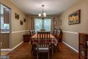 Dining Room - 12704 FANTASIA DR, HERNDON