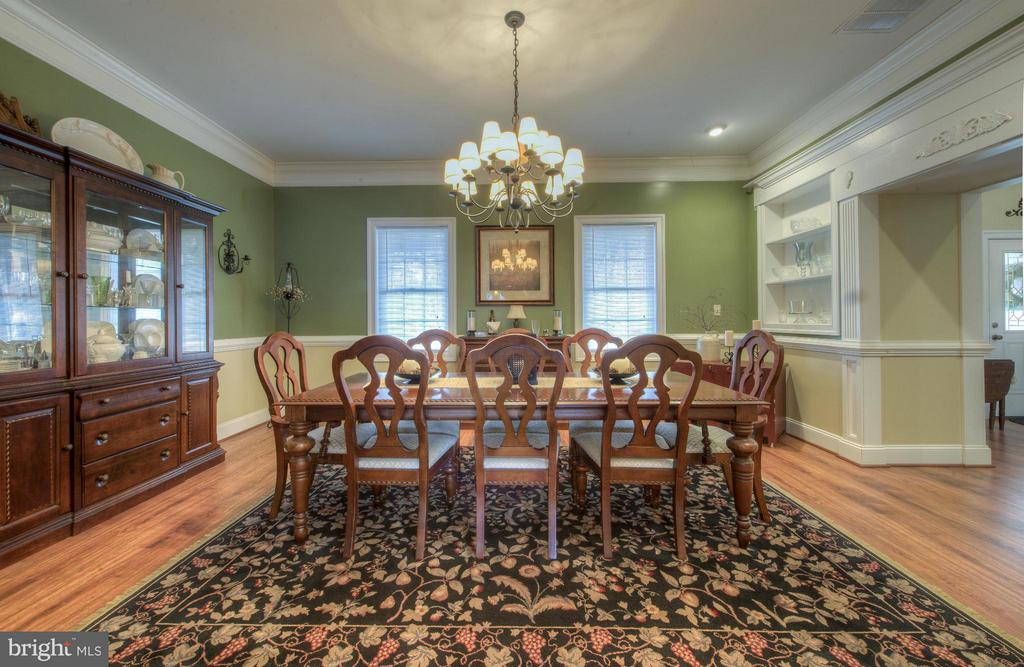 Spacious Dining Room to entertain many. - 254 SPOTTED TAVERN RD, FREDERICKSBURG