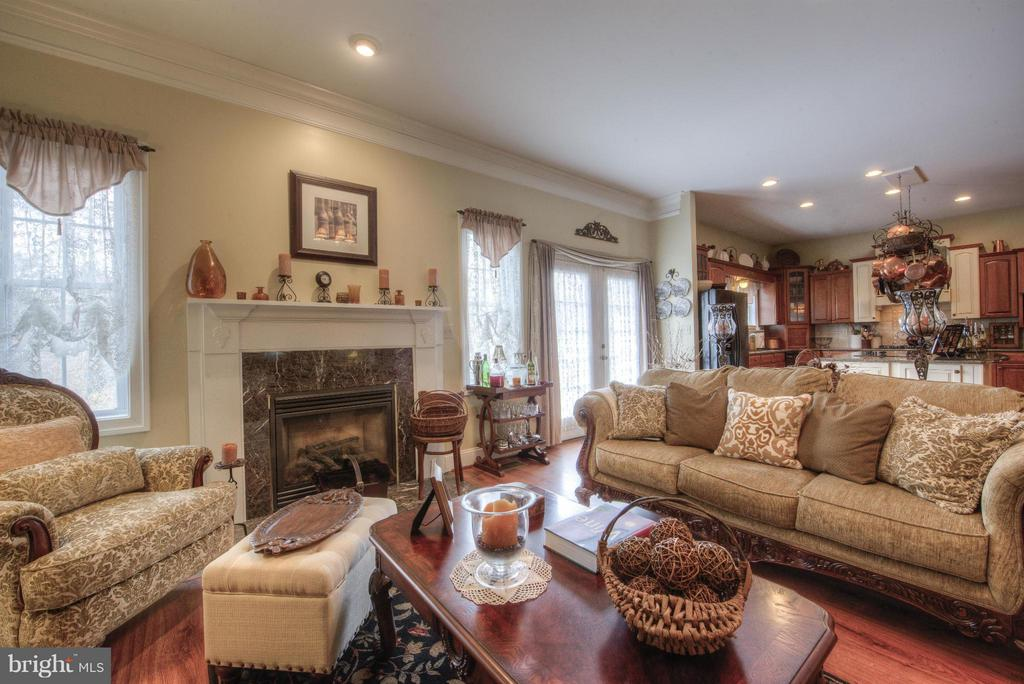 Family Room offers sunshine and outdoor access. - 254 SPOTTED TAVERN RD, FREDERICKSBURG
