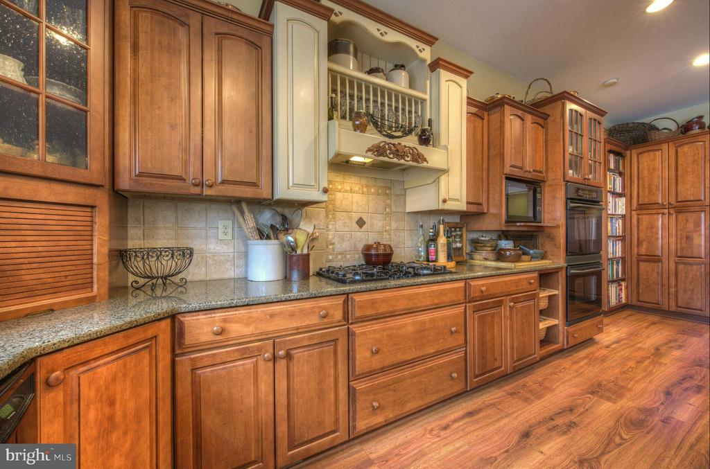 Custom Gourmet Kitchen cabinets and upgrades. - 254 SPOTTED TAVERN RD, FREDERICKSBURG
