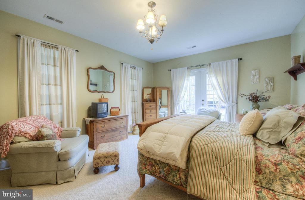 Bedroom with access to outside settee - 254 SPOTTED TAVERN RD, FREDERICKSBURG