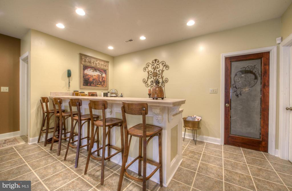 2nd Kitchen, with custom wine cellar to enjoy! - 254 SPOTTED TAVERN RD, FREDERICKSBURG
