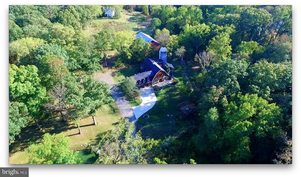 Aerial View - 38699 OLD WHEATLAND RD, WATERFORD