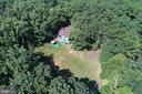 10 acres of lush trees & cleared yard - 39367 SADDLERIDGE LN, ALDIE