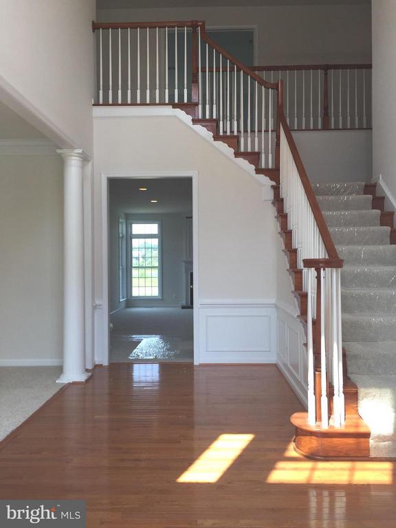 Sunny Hardwood Foyer - 25667 CABIN POINT CT, CHANTILLY