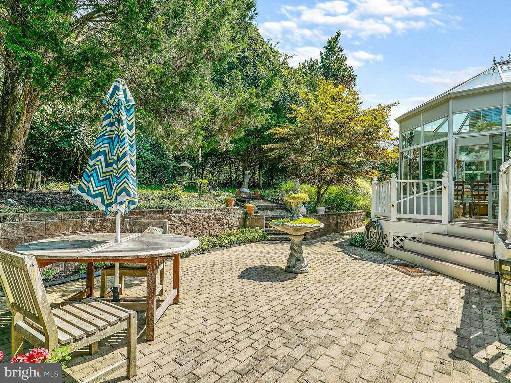 Patio off Sunroom - 14037 WEEPING CHERRY DR, ROCKVILLE
