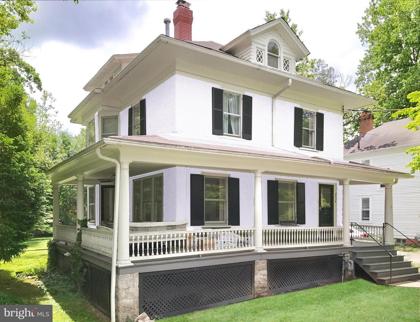 Single Family Home for Sale at 3508 Shepherd Street 3508 Shepherd Street Chevy Chase, Maryland 20815 United States