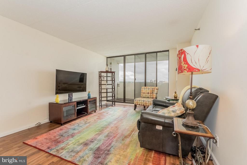Living Room - 5911 EDSALL RD #1113, ALEXANDRIA