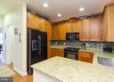 Kitchen - 95 HERON LN, OCCOQUAN