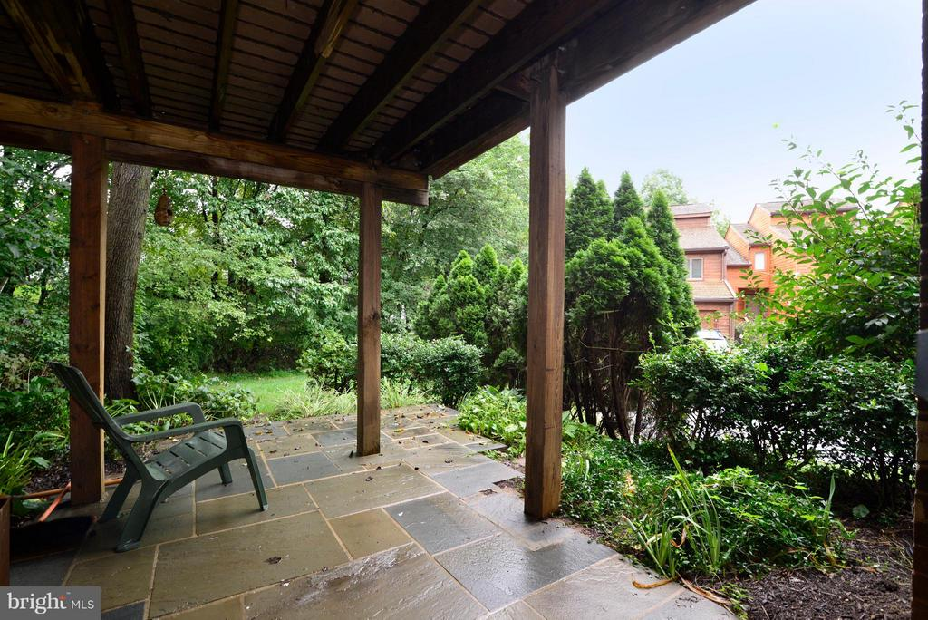 Patio under 2 Trex Decks - 2259 CEDAR COVE CT, RESTON