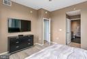 Bedroom (Master) - 3409 WILSON BLVD #309, ARLINGTON