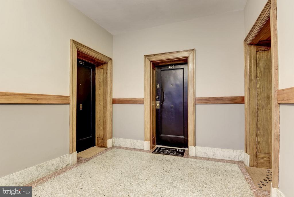 Hallway - 516 A ST NE #203, WASHINGTON