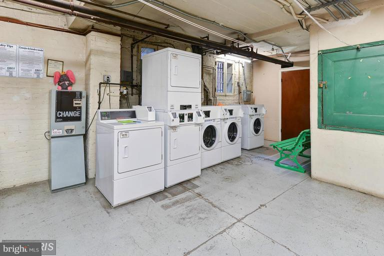 Laundry room in basement - 516 A ST NE #203, WASHINGTON