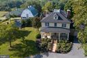 Overview of Manor House, Buildings & Yard - 35175 SNICKERSVILLE TPKE, ROUND HILL