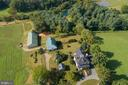 Aerial of Mount Edgecombe & All Its Offerings - 35175 SNICKERSVILLE TPKE, ROUND HILL
