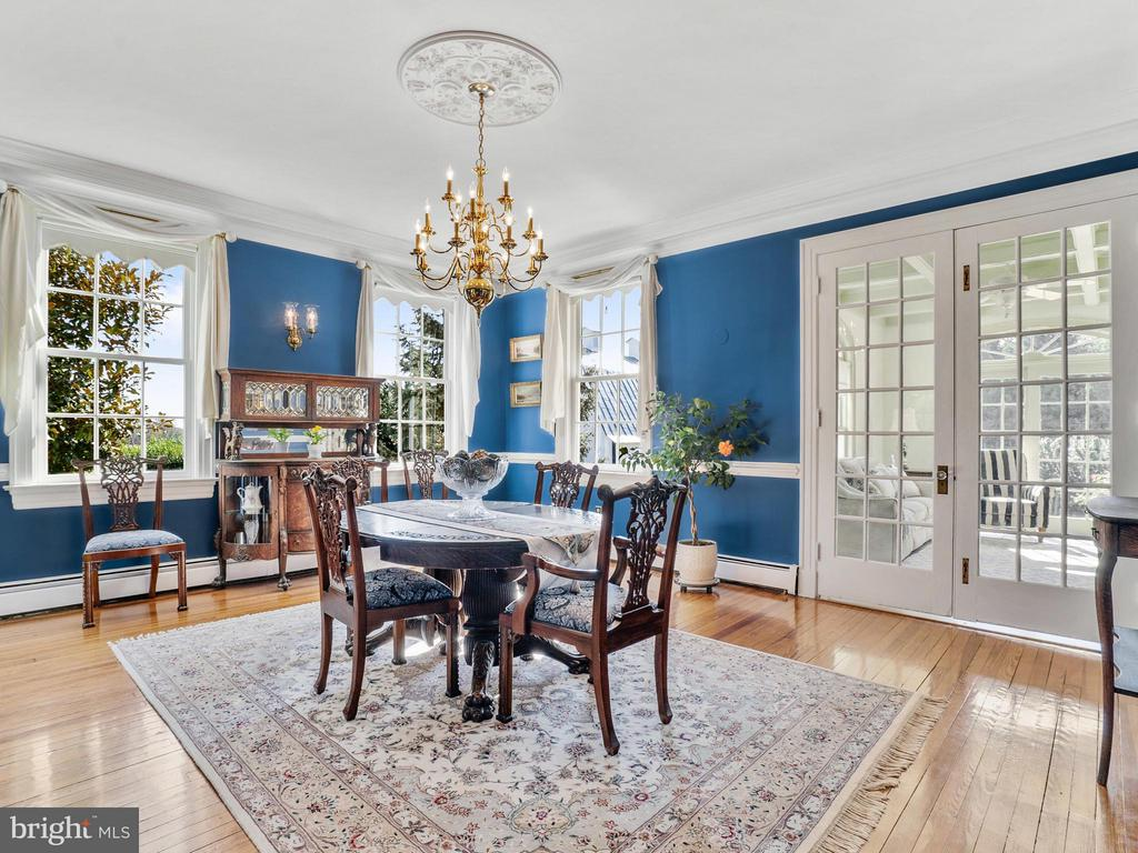 10 Ft Ceilings, French Doors, Crown & Chair - 35175 SNICKERSVILLE TPKE, ROUND HILL
