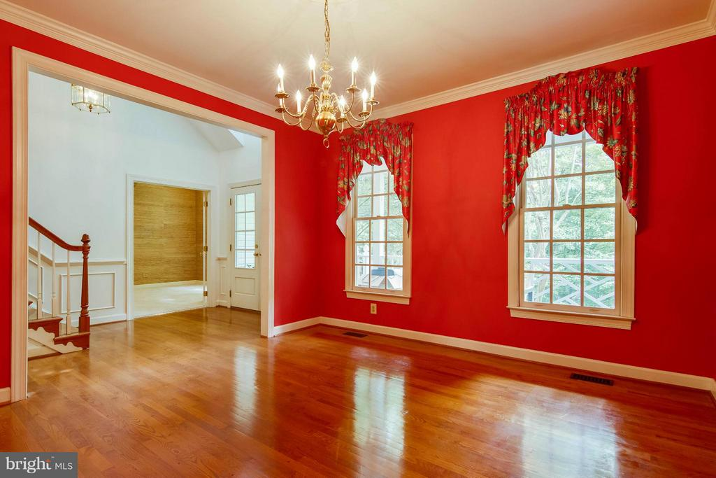 Dining Room - 6032 LADY SLIPPER LN, MANASSAS