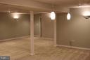 Basement Rec Room - 240 SANDY RIDGE RD, FREDERICKSBURG