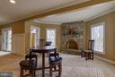 Basement with Wood Burning Fireplace - 20652 ST LOUIS RD, PURCELLVILLE