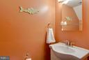 Powder Room - 8317 KINGSGATE RD #517, SPRINGFIELD