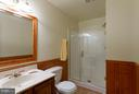 Basement Bath - 15698 BEACON CT, DUMFRIES