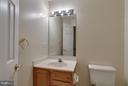 Basement Half Bath - 13823 REGAL CT, WOODBRIDGE