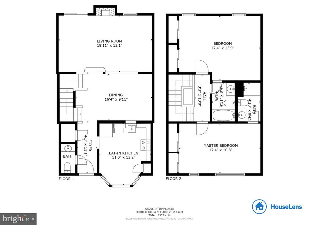 Floor Plan - 6620 SKY BLUE CT, ALEXANDRIA
