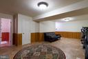 Basement Rec Room - 15698 BEACON CT, DUMFRIES