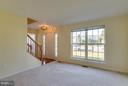Living Room - 13823 REGAL CT, WOODBRIDGE
