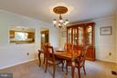 Dining Room - 15698 BEACON CT, DUMFRIES