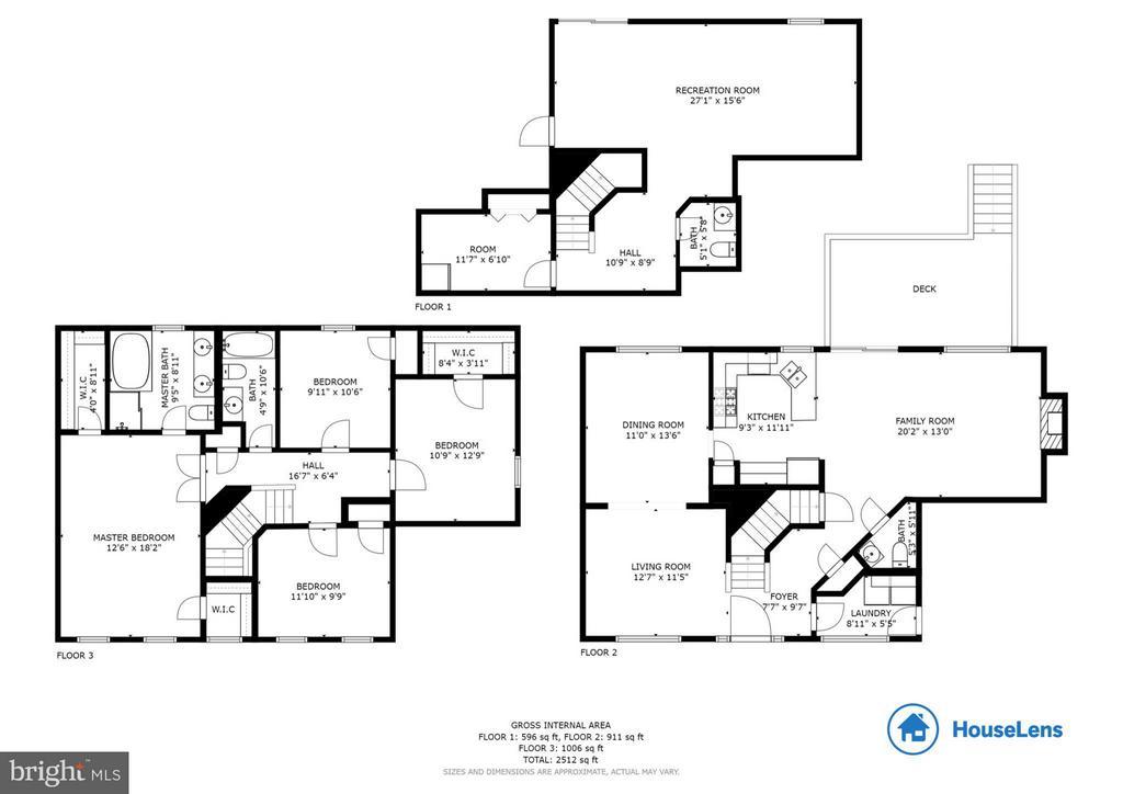 Floorplan - 13823 REGAL CT, WOODBRIDGE
